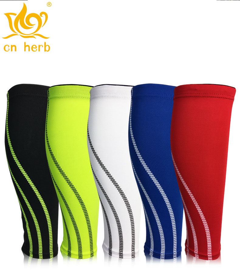 Cn Herb 2 pcs sports leggings, compression, elastic, leg socks, outdoor basketball, football running AIDS.