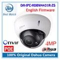 Dahua inglês firmware ipc-hdbw4431r-zs h.265 ip câmera de 2.8mm ~ 12mm lente varifocal motorizada 4mp ir50m com cartão sd slot poe