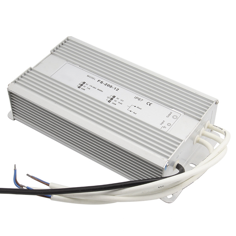 AC 170-260V To DC 12V-48V 200W Led Driver Transformer Waterproof Switching Power Supply Adapter,IP67 Waterproof Outdoor Strip dc power supply 36v 9 7a 350w led driver transformer 110v 240v ac to dc36v power adapter for strip lamp cnc cctv