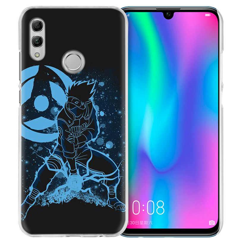 Naruto Kakashi Case for Huawei Honor 8X Y9 9 10 Lite Play 8C 8S 8A Pro V20 20i 10i Y6 Y7 2019 Hard PC Anime Coque Phone Cover