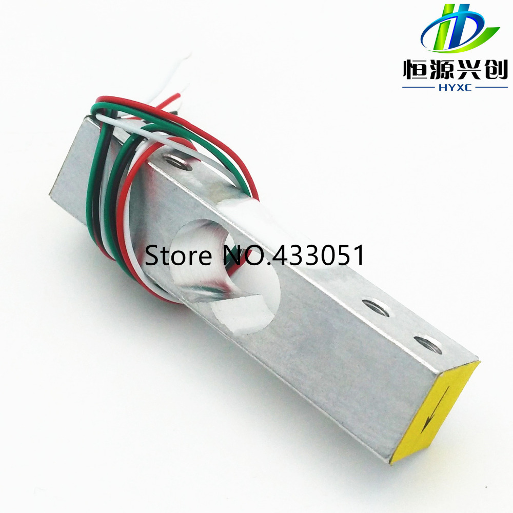 Aihasd 4pcs 50KG 110lb 3-Wired Human Scale Load Cell Weight Weighting Sensor Half-Bridge