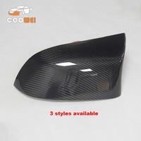 Car Cover 1 Piar Carbon Fiber Rear View Mirror Cap Mirror Housings For BMW X3 F25