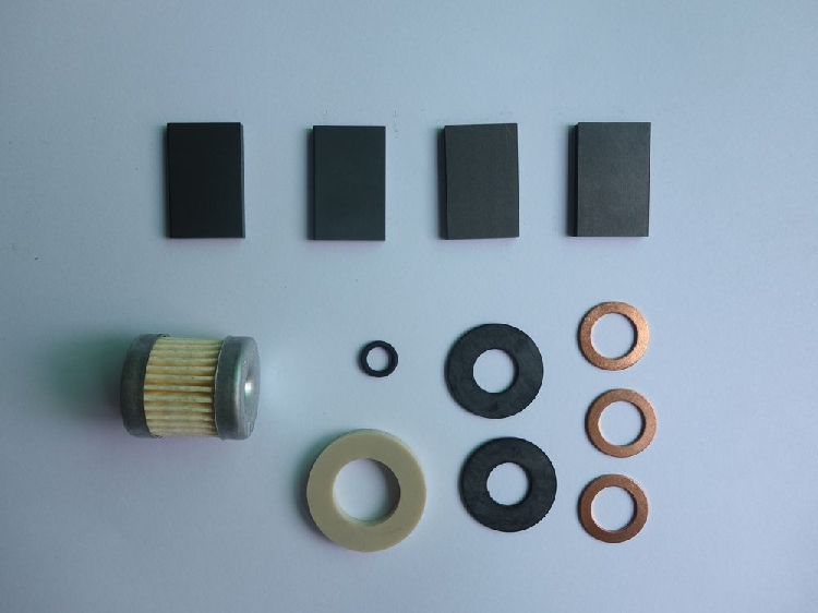 Original Thomas VTE3 VTE6 VTE8 vacuum pump repair kit accessories carbon ring rotary ring filter