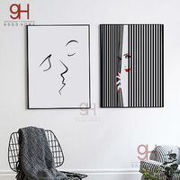 Modern Abstract Canvas Art Print Poster Fashion Wall Pictures For Home Decoration Giclee Print Wall Decor