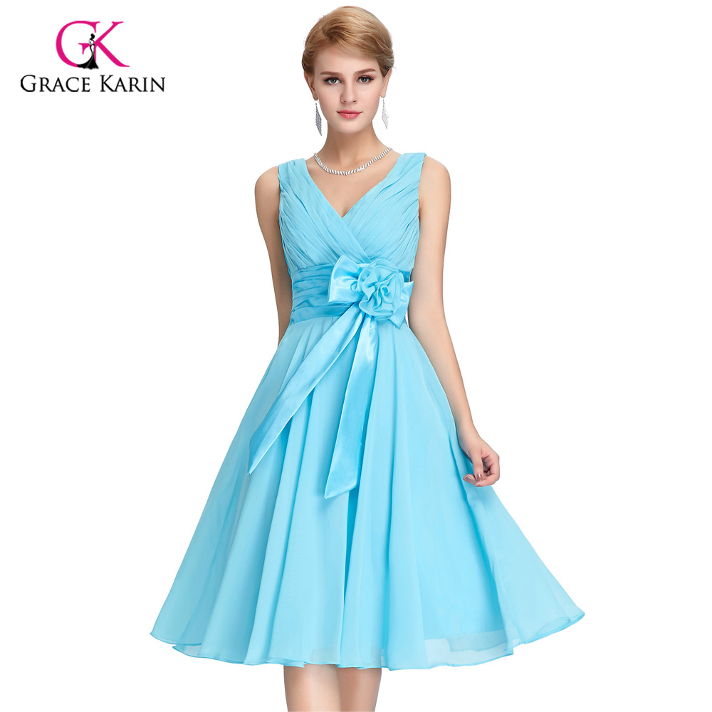 Grace Karin Womens Cocktail Dresses Summer style Floral Print Retro ...