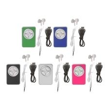 Mini Clip Music Media MP3 Player Support TF Micro SD Card Wi