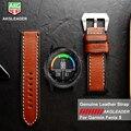 Роскошный ремешок из натуральной кожи сменные часы ручной работы с инструментами для Garmin Fenix 5 gps часы высокого качества ремешок Sep7