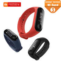 Global Version Xiaomi Mi Band 3 Smart Waterproof 5ATM Miband 3 Android IOS Fitness Tracker Wristbands OLED Passometer Wrist