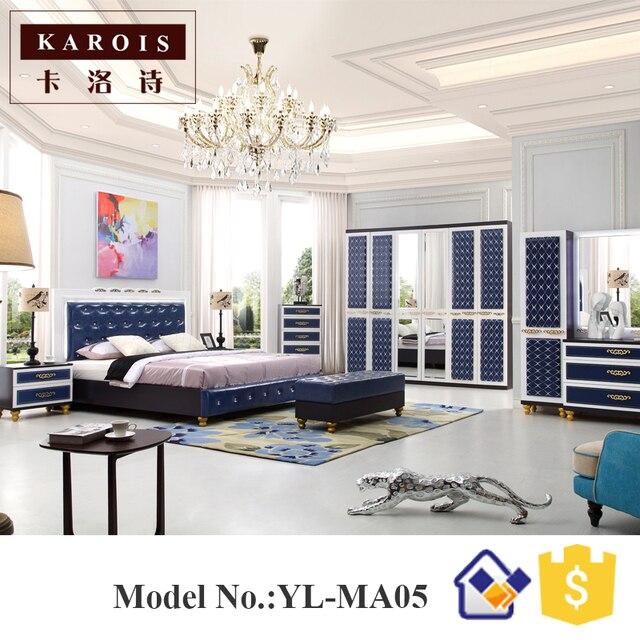 Set camera da letto moderna doppio colore armadio design camera da ...
