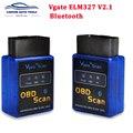 Автомобильный сканер Vgate ELM327 V2.1  OBD2 EOBD Bluetooth  универсальный адаптер PIC18F25K80 с чипом ELM 327 OBD2