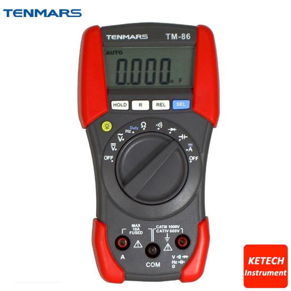 CAT IV 600V Digital Portable Multimeter TM86 digital multimeter tm86