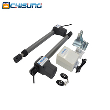 цена на CSSGO-05 DC24V Water-proof Automatic Swing gate opener 500kg 2.5M/3M Electric Linear Actuator Double arms swing gate motor kit