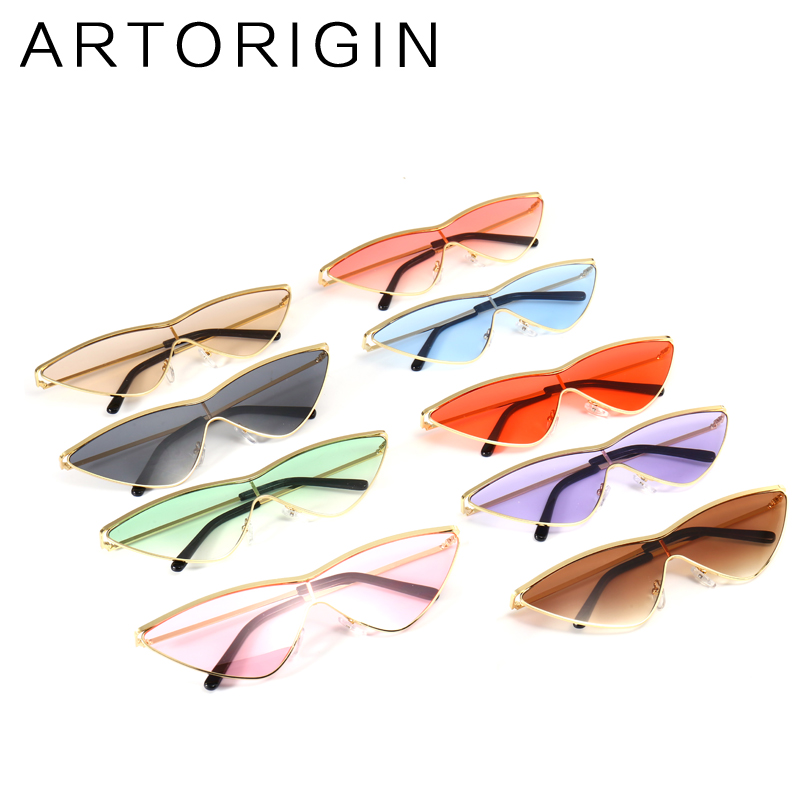 c81ca756dab ARTORIGIN Vintage Women Sunglasses Exaggerated Cat Eye Sunnies Stylish  Fashion Female Sun Glasses Female Shades Oculos Lunettes-in Sunglasses from  Apparel ...