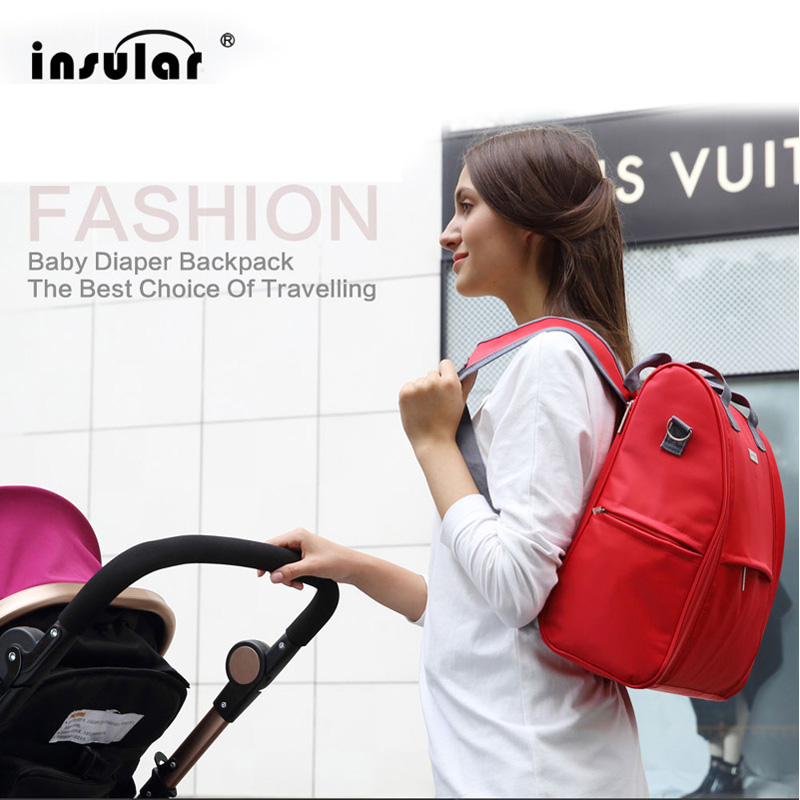 Brand fashion designer shoulder newborn baby travel mummy stroller diaper bag set nappy bags backpack organizr <font><b>tote</b></font> prices