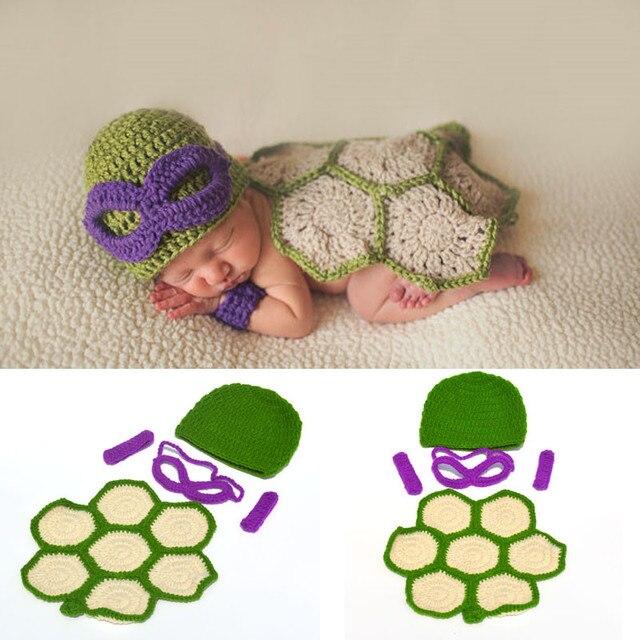 Newborn Photo Props Crochet Knit Baby Cartoon Costume