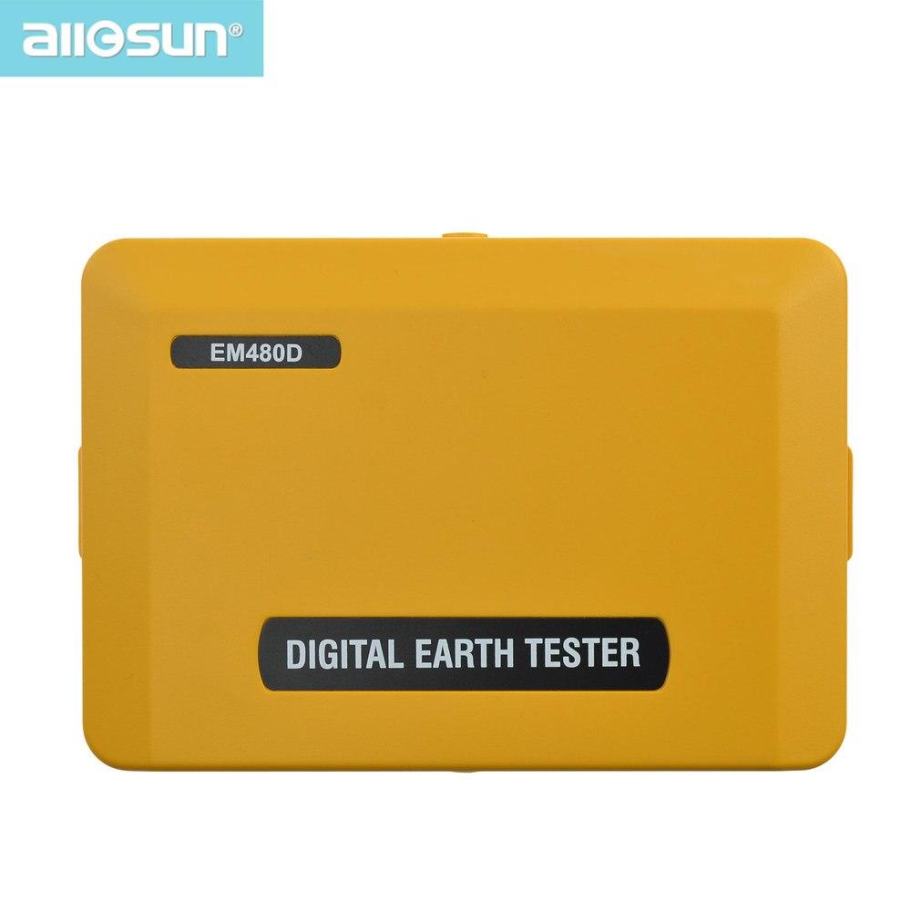 All-sun EM480D Digitale terrestre tester di resistenza di terra dispositivo elettrico dispositivo di spegnimento automatico di protezione di illuminazione
