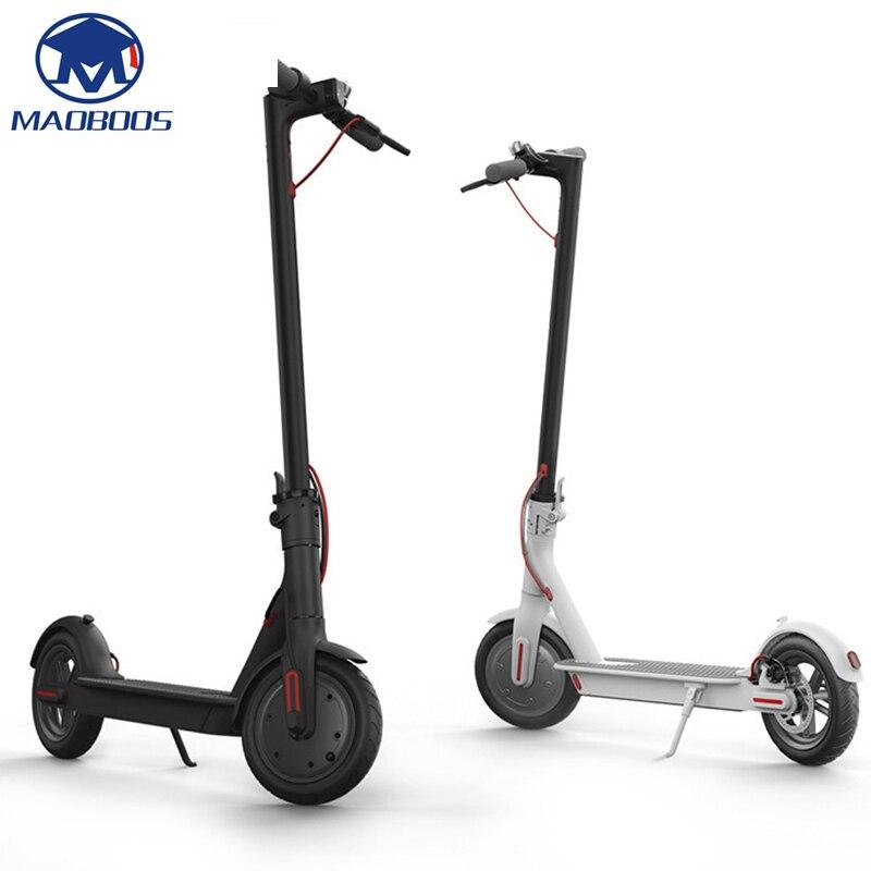 Scooter électrique intelligent pliable auto-équilibre électrique Mini planche à roulettes Scooter électrique 4400 mah batterie coup de pied Scooters