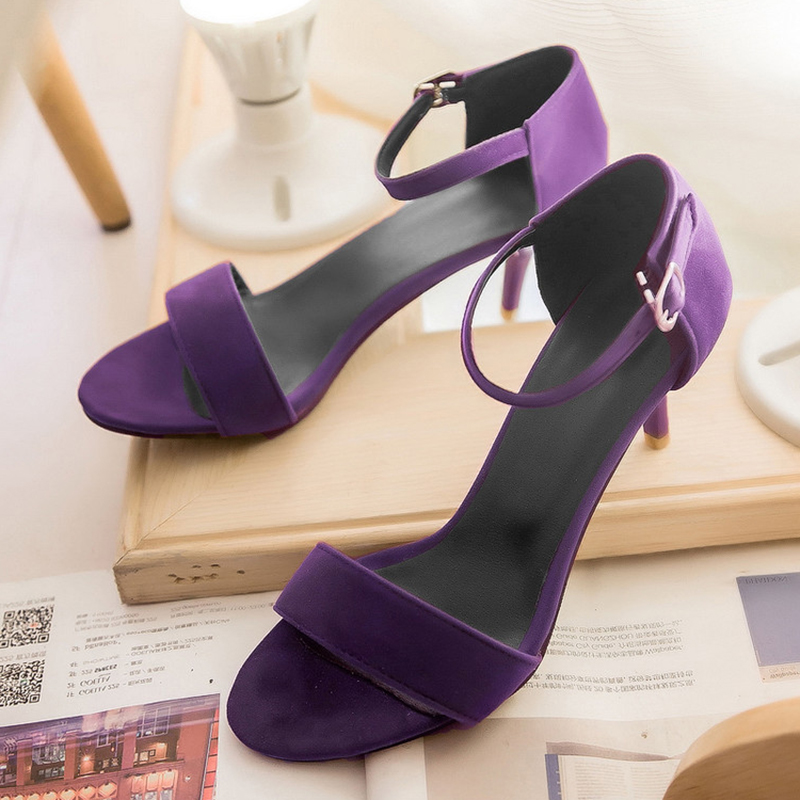 Coolcept Women High Heel Sandals T Stage Classic Dancing Heeled Sandals Stiletto Party Wedding Shoes Footwear Size 34-42 PA00439