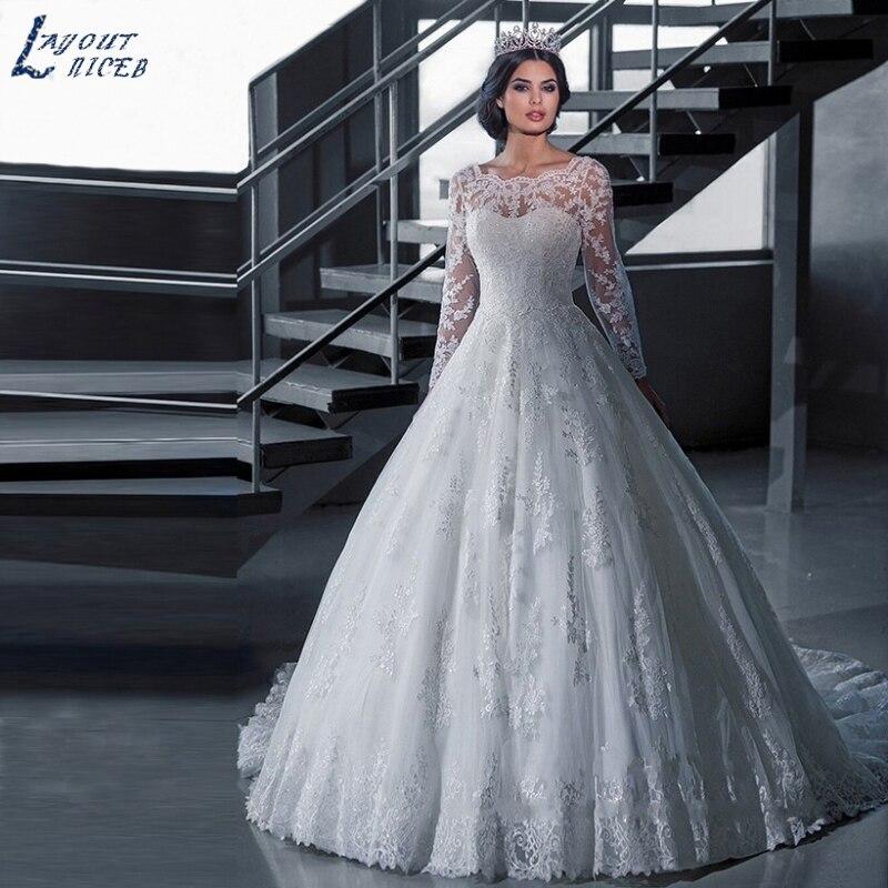 Ball Gown Princess Wedding Dress Lace