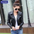 PU Leather Jacket Black Sexy Slim Design Leather Women's Short Winter Autumn Coat Female Plush Jackets Women Outwear Clothing