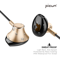 Picun H2 Bluetooth Wireless Headphone Sweatproof Sport Running Earbuds Earphone Stereo Earpods Airpod Magnetic Headset With