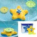 Bebés y Niños Baño Divertido Estrella de Mar de Agua Electrónicos Juguetes de Baño