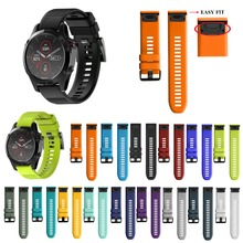 20mm 22mm 26mm watch band for Garmin Fenix 5 5X 5S 3 3HR quick fit smart bracelet strap Fenix5 Forerunner 935
