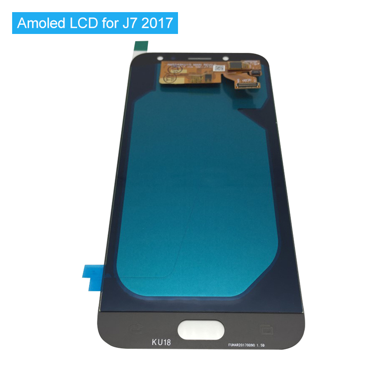 Super AMOLED LCD For Samsung Galaxy J7 Pro 2017 J730 J730F Capacitive Screen LCD Display with Touch Screen Digitizer Assembly