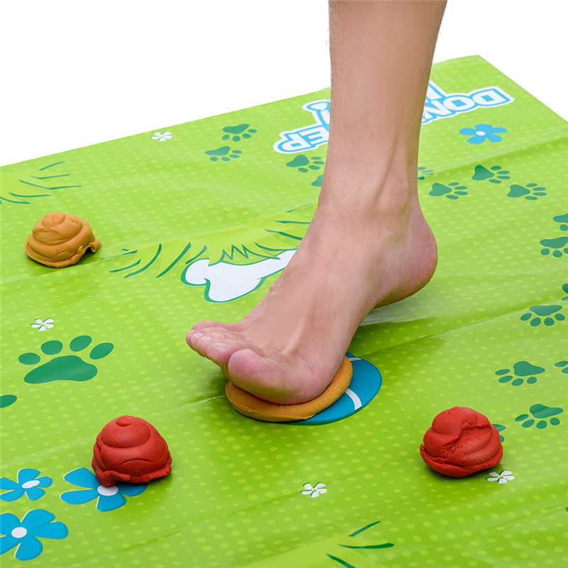 Don't Tread In It Funny Poo Game Family Kill Time Board Game Parent-child Game Takes Skill Toy For Your Kid Play, Relax D5