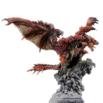 Japanese Anime Monster Hunter Figure Rathalos PVC Models Hot Dragon Action Figure Decoration Toy Model japanese hot anime tales of zestiria edna 1 8 scale 23cm 9inch painted pvc collectible figure