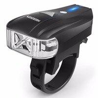 HODGSON 400lm Smart Bike Light Sensor Intelligent Cycling Light Bicycle Headlight Front Light LED USB Rechargeable