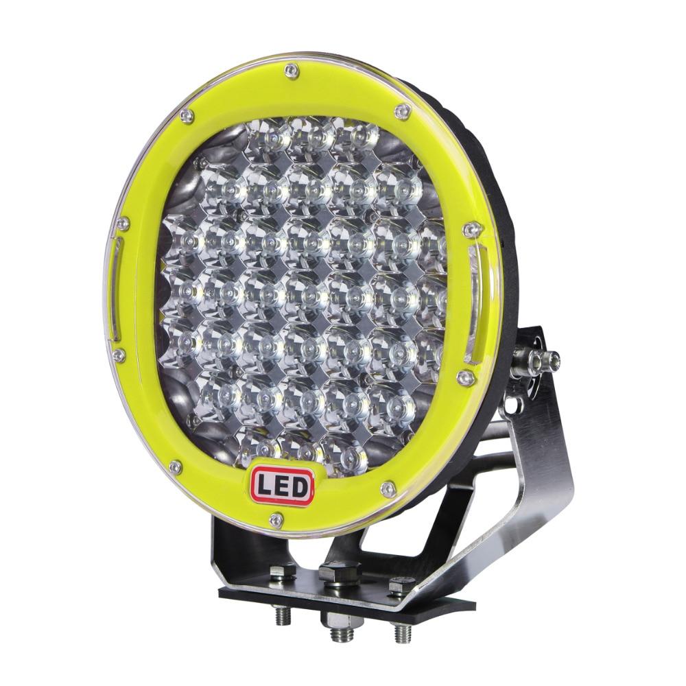 9 185W Off Road LED Driving Work Light Car SUV Trailer Truck Yacht Camper Wagon Pickup 4X4 4WD UTE Headlight Bumper Fog Lamp