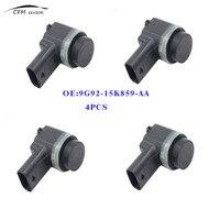 4pcs New 9G92 15K859 AA Parking Sensor PDC Fits Ford Mondeo Range Rover Backup Ultrasonic