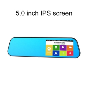 Image 5 - Ultra thin 2.5D Driving Recorder 5 inch Touch Screen Car Camera Starlight Night Vision Front And Rear Dual Lens
