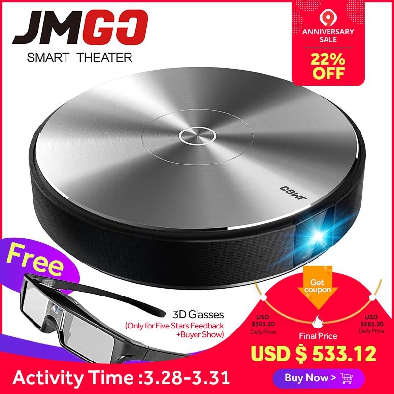 JMGO N7L Proiettore Full HD, 1920*1080 P, 700 ANSI Lumen. video Proiettore per Home Theater. smart Beamer, WIFI, Bluetooth. supporto 4 K