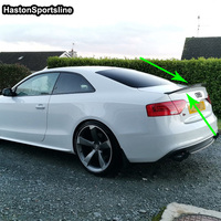 S5 Modified HK Style Carbon Fiber Rear Trunk Luggage Compartment Spoiler Car Wing for Audi S5 2Door 2009 2015