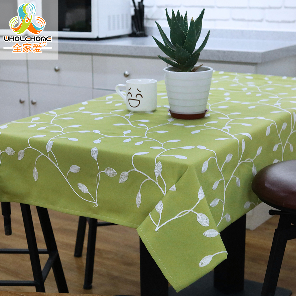 Rectangle Table Cover Table Cloth Tablecloth Pastoral