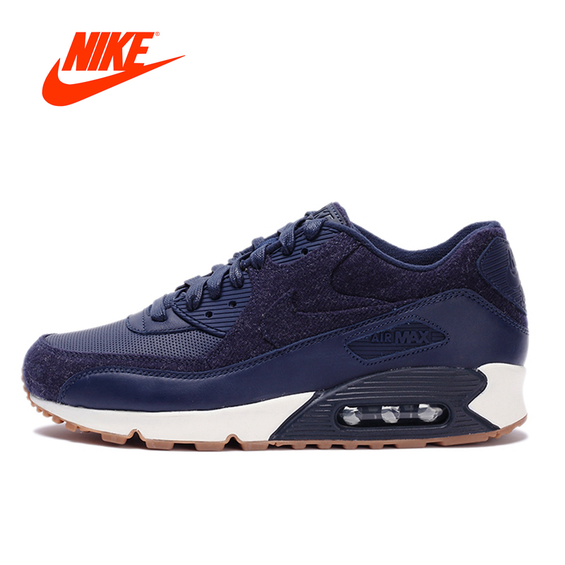 Original New Arrival Authentic NIKE Men's AIR MAX 90 ESSENTIAL Breathable Running Shoes Sport Outdoor Sneakers 700155-401 цена