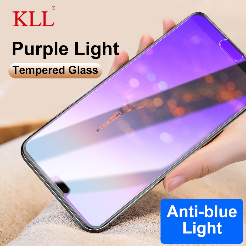 Anti Blue Light Full Cover Tempered Glass For Huawei P20 Pro Nova 3i 3e 2s Mate 10 Pro Honor 6a 7x 9i 8X Play 7 Screen Protector