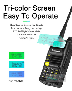 Image 5 - QuanSheng UV R50 TG UV2 Walkie Talkie UV R50 2 UHF VHF 5W Two way Radio 3300mAh Portable Quansheng UV R50( 1) Ham Radio TG UV50R