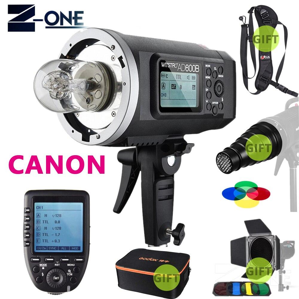 Godox AD600B 600Ws TTL GN87 1/8000 HSS Bowens monture Flash extérieur + XPRO Flash déclencheur pour Canon Nikon Sony Fujifilm Olympus