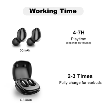 ALWUP i9 TWS Bluetooth 5.0 Wireless Headphones Earphone With Microphone for Phone 3D Stereo Bass Headset Cordless Earbuds 1
