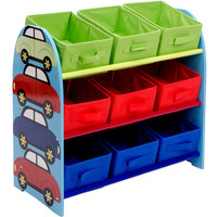 Cartoon Children's Toy Storage Rack Nursery Baby Toy Shelf Storage Box Sorting Rack