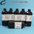 UV de Cama Plana De Inyección de Tinta de la Impresora de Cuero Sintético/PU/Plástico/PVC Suave de Impresión (todo Material Suave)