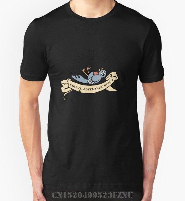 夏凶暴男性tシャツキャプテンバーディーの海賊アドベンチャーrum短いファッションニットkpopメンズプリン