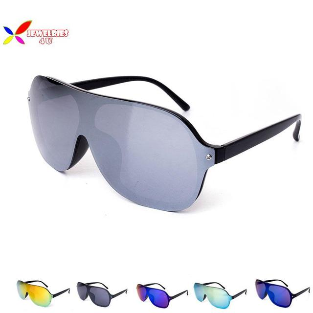 9d4d4f432b16a New 2015 Fashion Sunglasses Women s Eyewear Vintage Mirror Connected  Reflection Lens Unisex Oculos de sol Sun