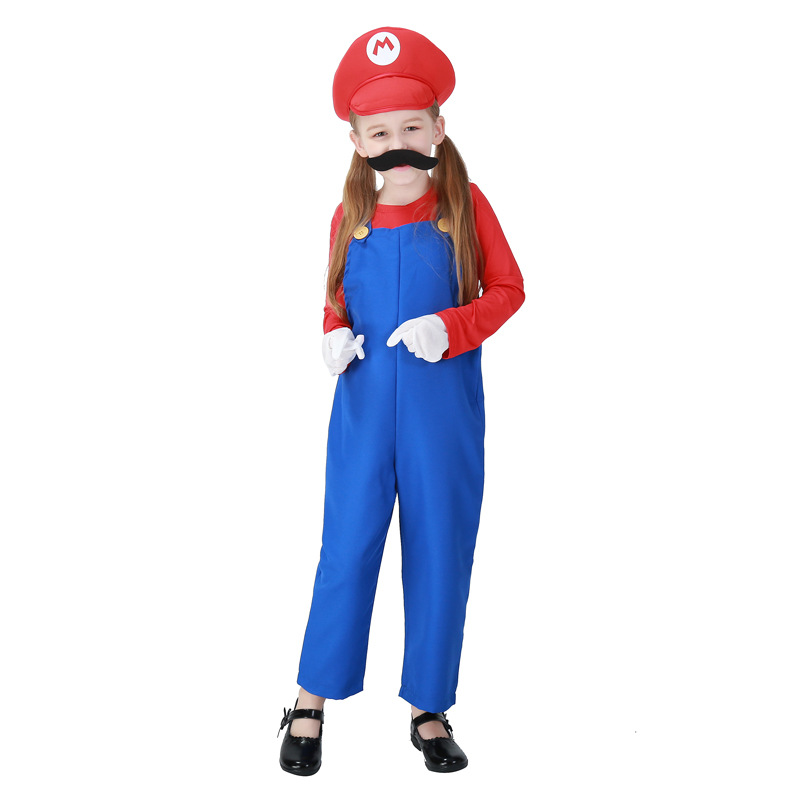Free Shipping Kids Super Mario Costumes Cosplay Costumes For Boys Halloween Cosplay Costumes For Kids Children Cosplay Costumes-in Movie u0026 TV costumes from ...  sc 1 st  AliExpress.com : kids super mario costume  - Germanpascual.Com