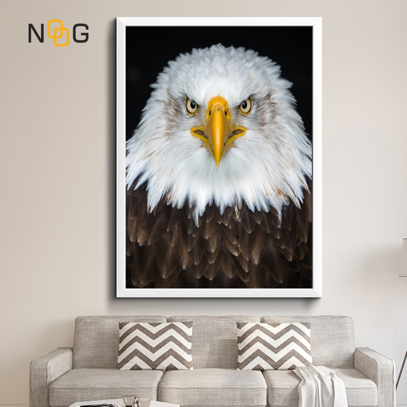 NOOG WILD Animal Canvas Painting Eagle Wall Art Picture For Living Room Poster Decoration No Frame Morden Print
