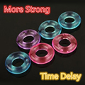 5 Pcs Stay Hard Donuts Silcone Cock Rings, Delaying Ejaculation Rings, Penis Ring, Flexible Glue Cock Ring, Sex Toys for Men