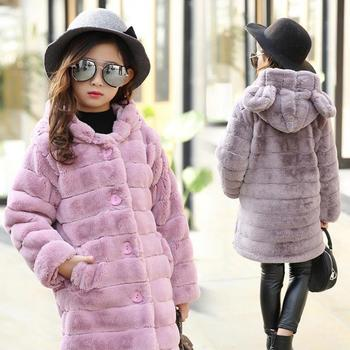2020 Winter High Quality Girls Cotton Down Coat Teenager Hooded Jacket Children Kids Thick Warm Waterproof Windbreaker Snowsuits